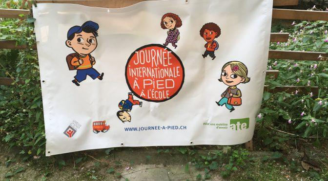 17ème Journée internationale à pied à l'école